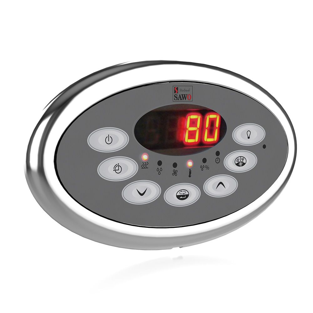 Sawo Innova Classic S, Control panel with Power Controller