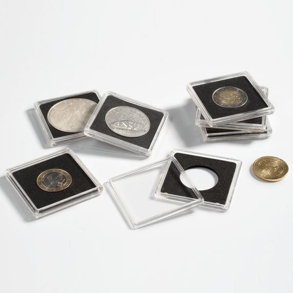 Square Coin Capsule Quadrum 33 mm