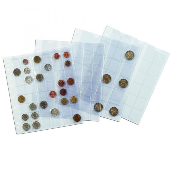 Numis mündileht - 20 taskut läbimõõduga kuni 34 mm