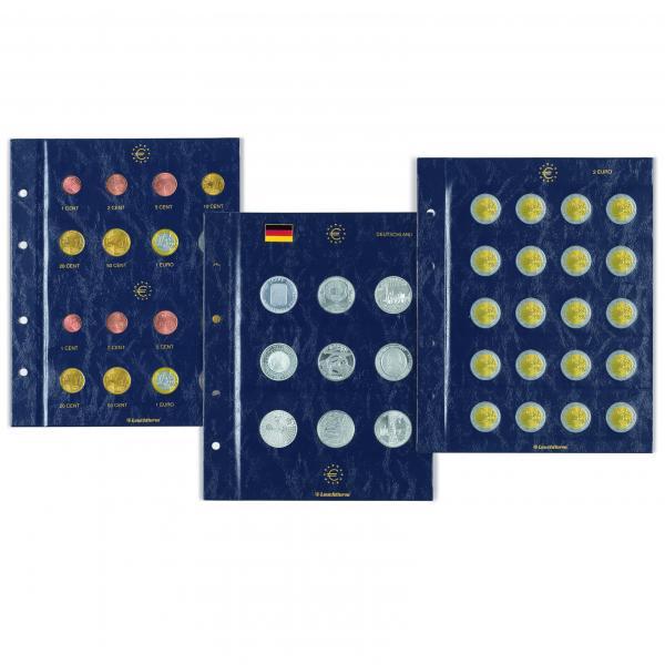 """Vista albumi lisaleht 2012.a. ühisteema """"Euro 10.a."""" 2€ juubelimüntidele (2 tk/pk)"""
