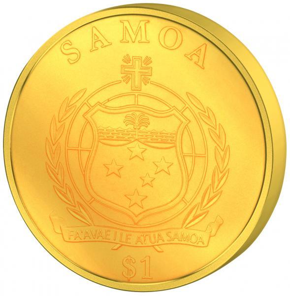 Hõljuv münt - Marsi missiooni 50  aastapäev - 60 gr