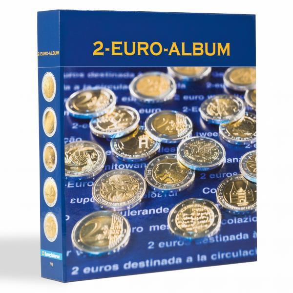 NUMIS album  2€ juubelimüntide kogumiseks VI  osa (2016.a. mündid)