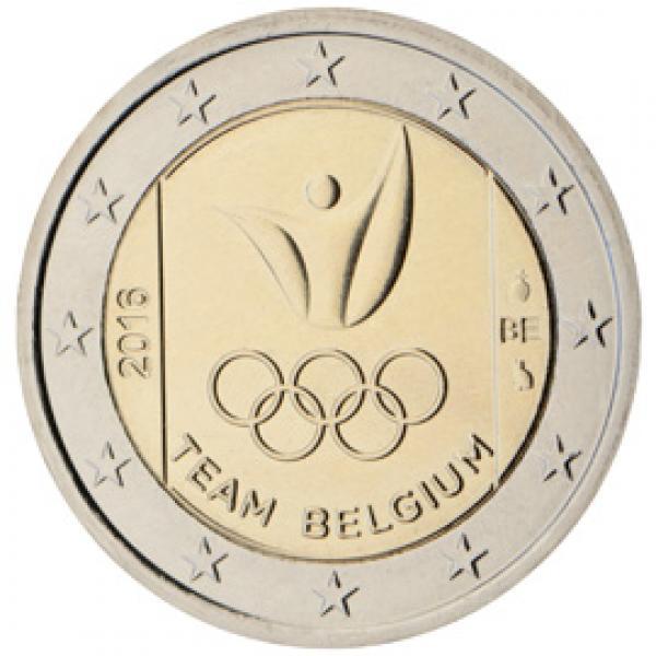 Belgium 2€ commemorative coin 2016 - Olympic Games