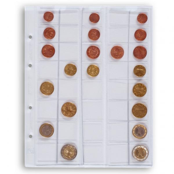 Optima mündileht 5 seeriale euromüntidele (M40)