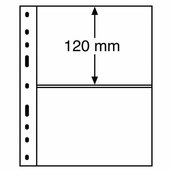 Optima paberraha leht 2 vahega (120 x 180 mm)