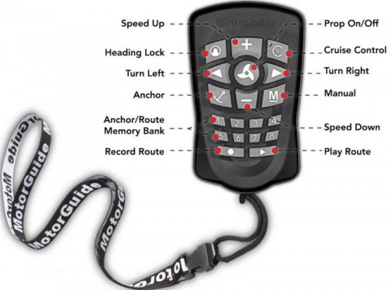 Kaugjuhtimispult MOTORGUIDE Pinpoint GPS, sobiv Xi5 mootoritele