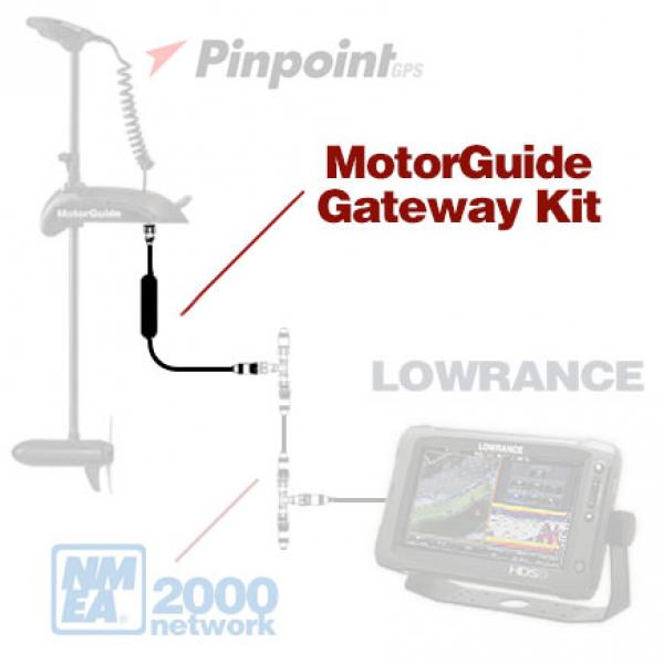 PinPoint NMEA 2000 Gateway komplekt (NMEA 2000 Gateway juhe 6ft & T-Connector)