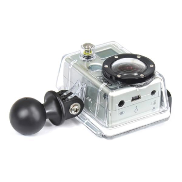 """Kaameraots RAM® kinnitusjalale GoPro, EKEN, SJCAM jt seikluskaamerate jaoks 1"""" kuuliga RAP-B-202U-GOP3"""