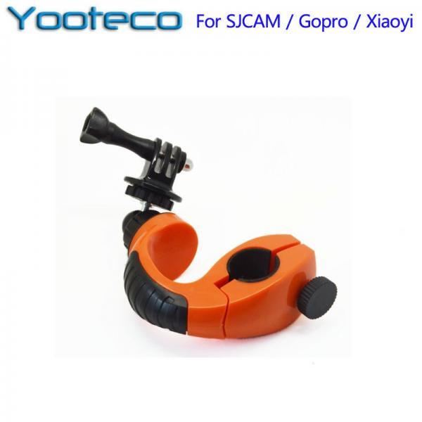 Kaamerakinnitus Yooteco rattaraamile EKENi, GoPro ja SJCAM seikluskaameratele, 360 kraadi võteteks, oranzh