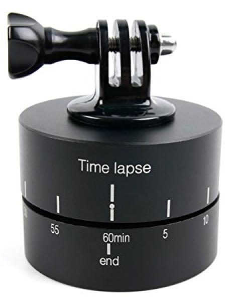 Timelapser kaamerakeeraja EKENi, GoPro ja SJCAM seikluskaameratele, 60 min taimeriga täisring