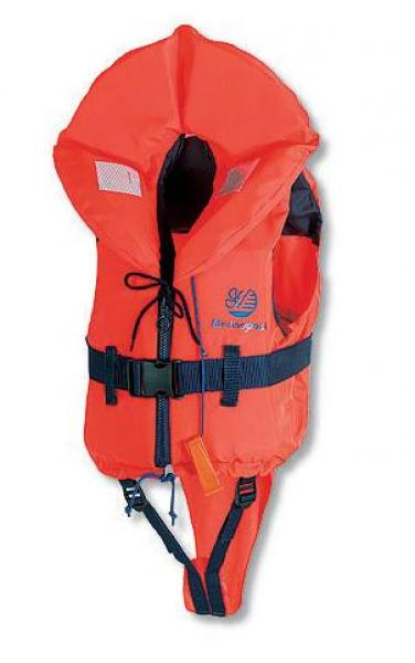 Lifejacket MARINEPOOL Europe with zipper 100N Orange 5-10 kg