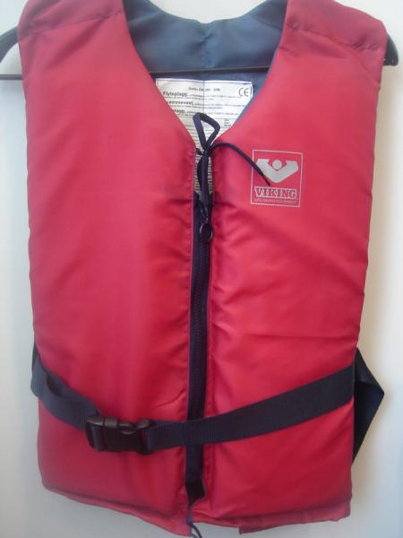 Lifejacket 50N, VIKING logo Red 90+kg