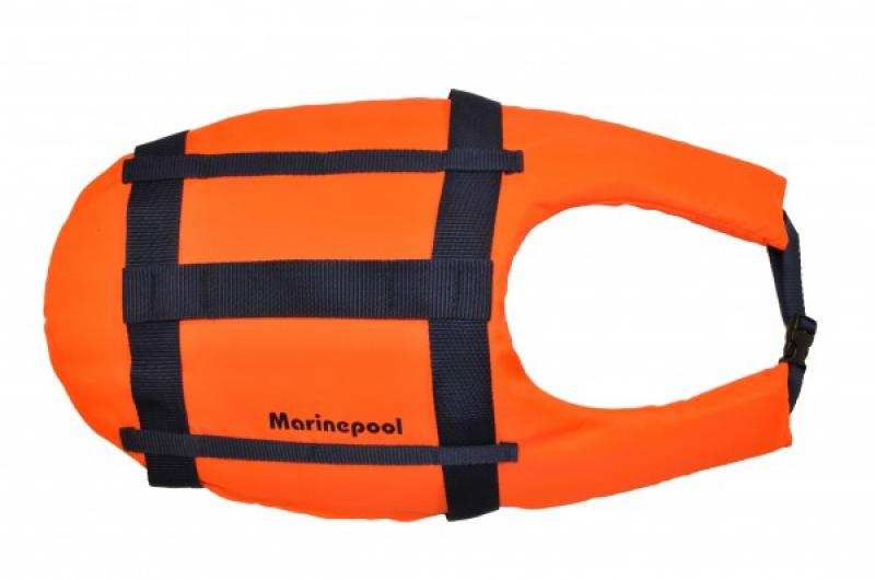 Dog lifejacket Orange L