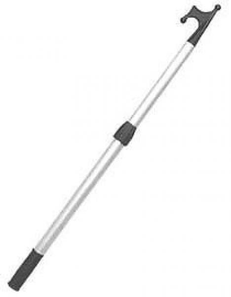 Telescopic boat hook Silver