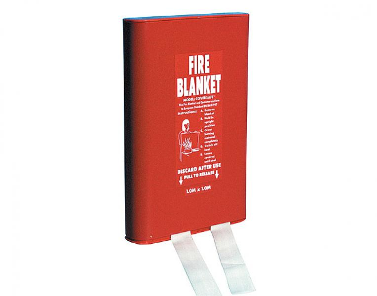 FIRE BLANKET - HARD CASE 1.2 X 1.8M