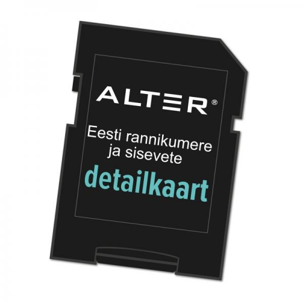 Merekaardid ALTER4 - Eesti rannikumeri 20 meremiili ja laevatavad siseveed