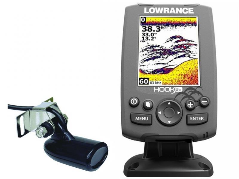 Kajalood LOWRANCE Hook-3X Chirp kalaleidija 83/200 anduriga
