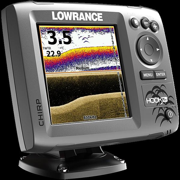 Kajalood LOWRANCE Hook-5X Chirp MID/HIGH/DOWNSCAN