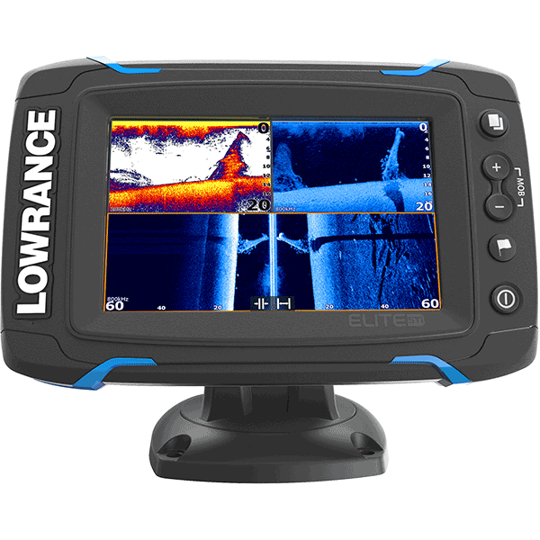 Kajalood LOWRANCE ELITE-5 Ti High/mid/Totalscan