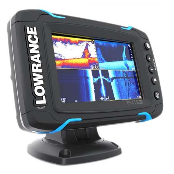 Fishfinder combo LOWRANCE ELITE-5 Ti High/mid/Totalscan