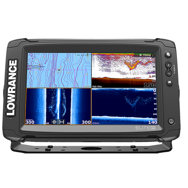 Эхолот комбо LOWRANCE ELITE-9 Ti High/mid/Totalscan