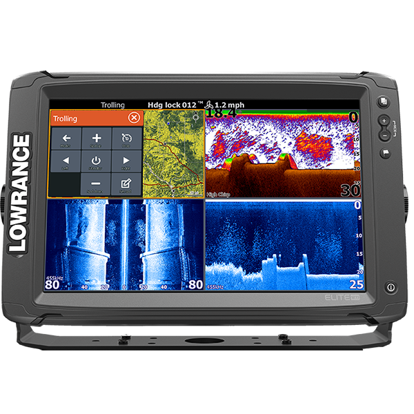 Эхолот комбо LOWRANCE ELITE-12 Ti High/mid/Totalscan