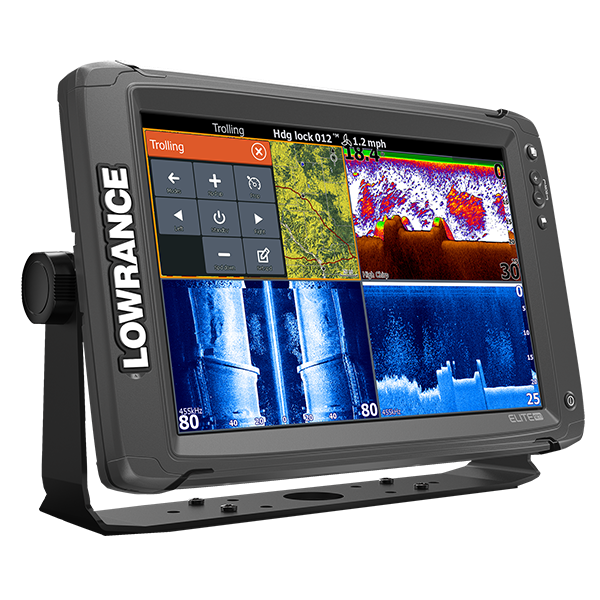 Fishfinder combo LOWRANCE ELITE-12 Ti High/mid/Totalscan