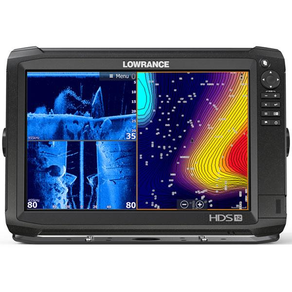 Kajalood LOWRANCE HDS-12 Carbon ROW Med/High Totalscan