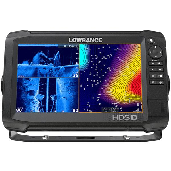 Fishfinder combo LOWRANCE HDS-9 Carbon ROW Med/High Structurescan 3D bundle