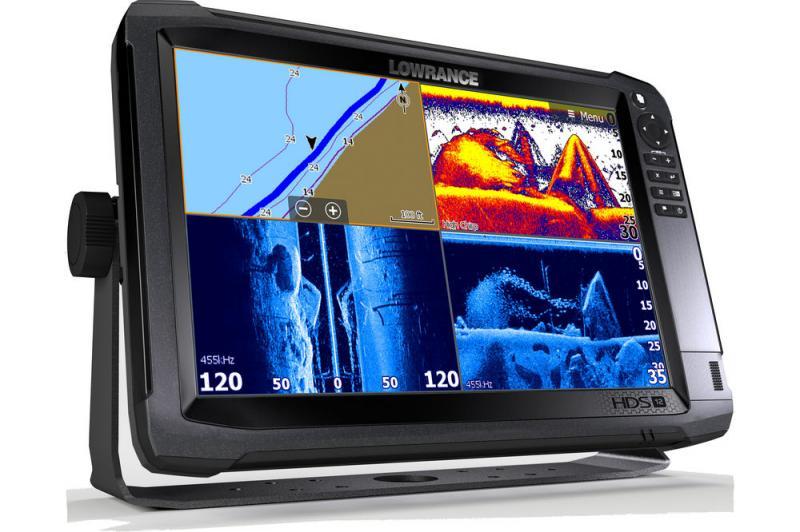 Kajalood LOWRANCE HDS-12 Carbon ROW Med/High Structurescan 3D paketiga