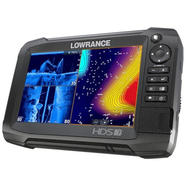 Fishfinder combo LOWRANCE HDS-7 Carbon ROW w/o skimmer