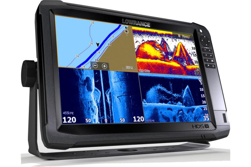 Эхолот комбо LOWRANCE HDS-12 Carbon ROW без дачиков