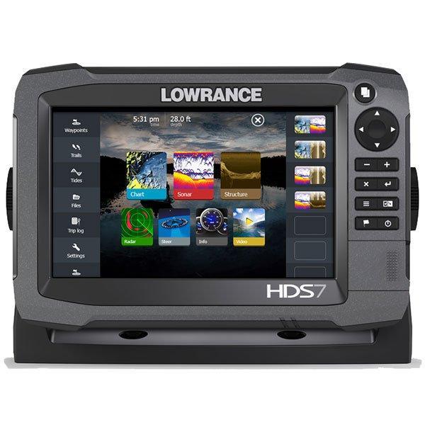 Fishfinder combo LOWRANCE HDS-7 Gen3 w/o skimmer