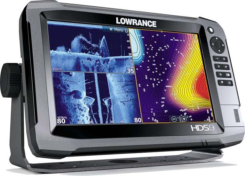 Fishfinder combo LOWRANCE HDS-9 Gen3 w/o skimmer