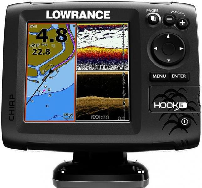 Kajalood LOWRANCE Hook-5 Chirp MID/HIGH/DOWNSCAN