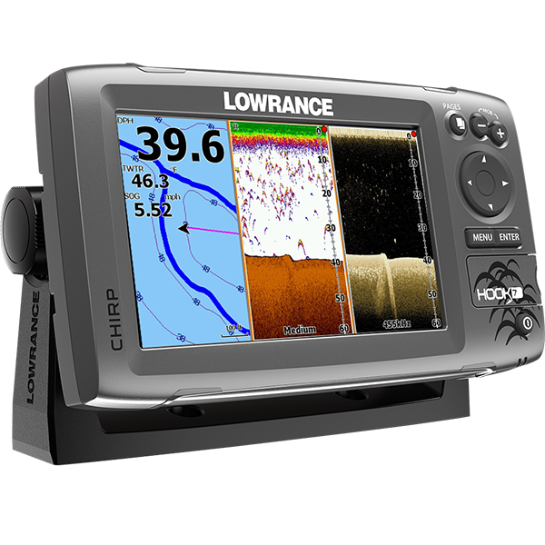 Kajalood LOWRANCE Hook-7 Chirp MID/HIGH/DOWNSCAN