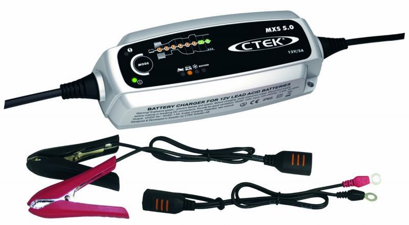 Akulaadija CTEK MXS 5.0 EU-F 12V/5A