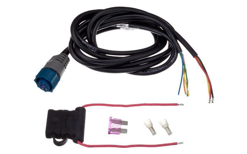Kajaloodi toitejuhe LOWRANCE HDS, Elite Ti, Elite, Hook kajaloodidele sinise pistikuga PC-30-RS422