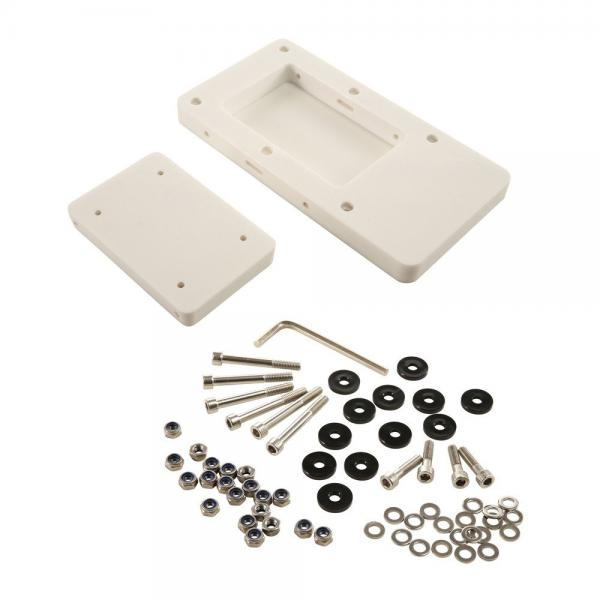 Quick Release Bracket for MOTORGUIDE Xi5, composite, white