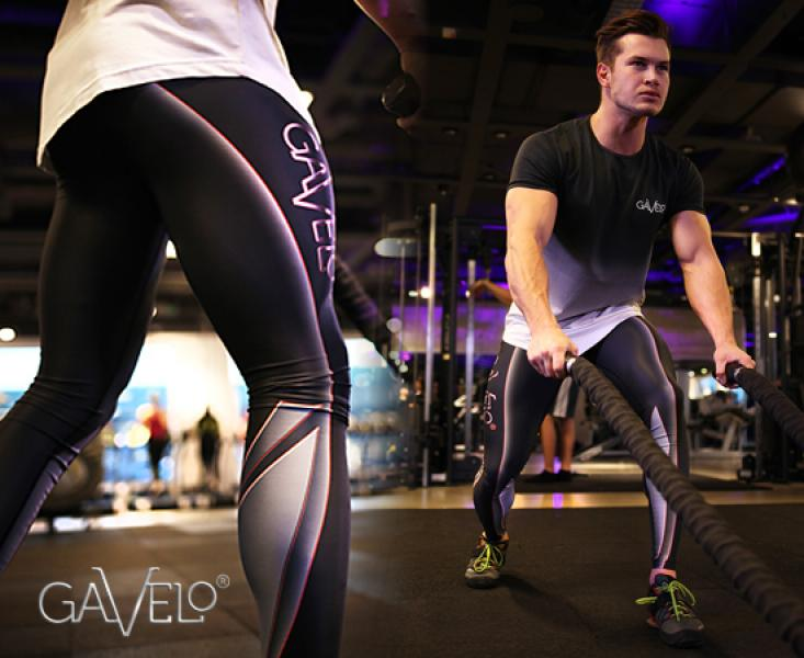 GAVELO Techno Carbon leggings- meeste kompressioon püksid
