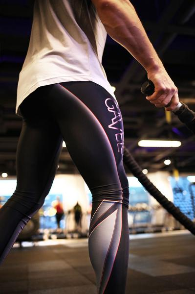 TECHNO CARBON men tights