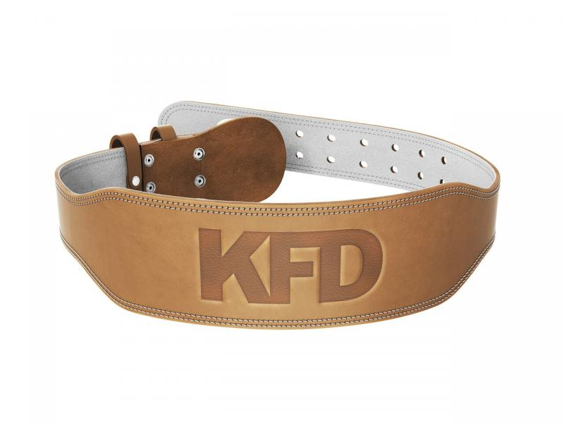 KFD leather belt PRO- beige