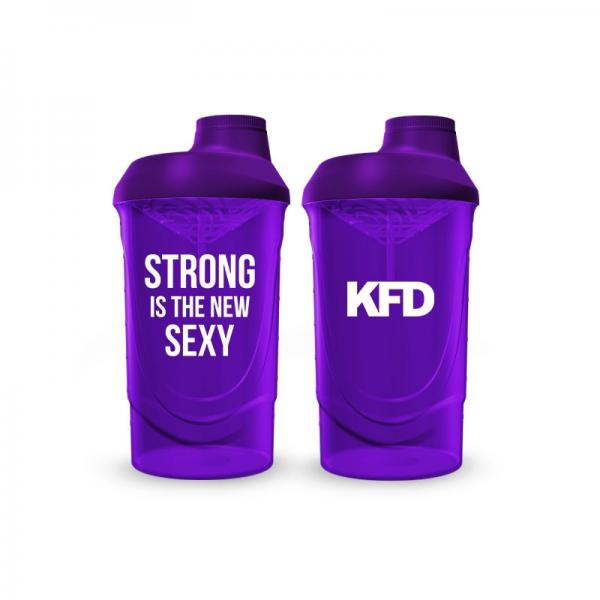 KFD shaker 600ml purple