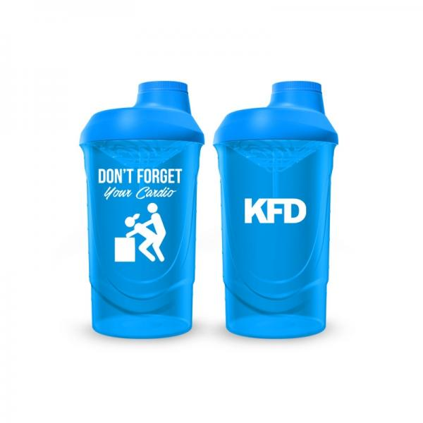 KFD shaker 600ml light blue