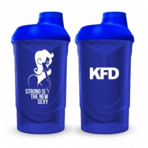 KFD shaker 600ml dark blue