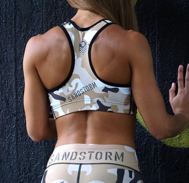 SANDSTORM sports bra