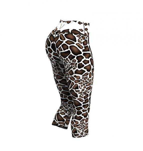 GIRAFFE capri leggings