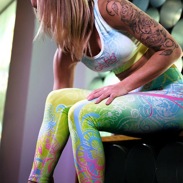 FLOWER-ISH leggings
