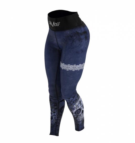MIDNIGHT SKULL leggings