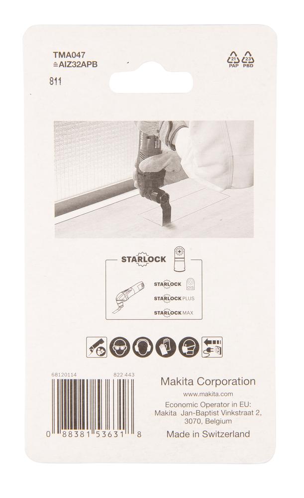 Multitool saetera Makita 32mm